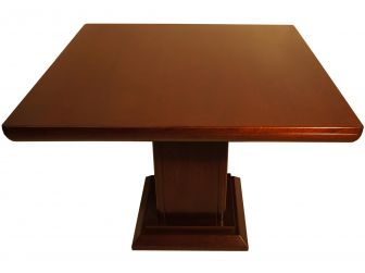 Square Meeting Table 1 Central Leg LAT-MET-KT0911