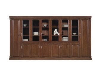 Large Executive 8 Door Storage Bookcase ORE-BKC-UM9B08