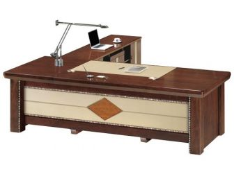 Executive Office Desk Unique Styling PHA-DSK-U3B241
