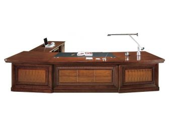 Large Executive Office Desk 3 Sizes RIZ-DSK-U66283
