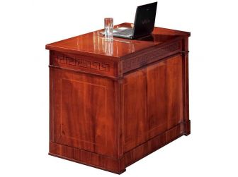 Solid Wood Executive Desk Return FER-10810S