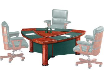 Executive Meeting Table Stylish Design MOZ-6833C