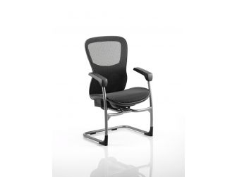Dynamic Stealth Shadow II Mesh Back and Mesh Seat Visitor Chair