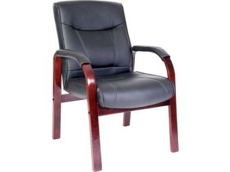 Leather Visitors Chair KINGSTON-VISITOR