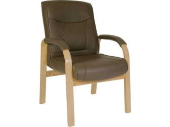 Leather Executive Armchair RICHMOND-VISIT