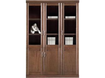 3 Door Enclosed Executive Bookcase MEG-BKC-UM6403
