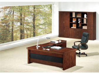 Sandhurst GRA-U57163 1.6m Executive Desk in Walnut Finish