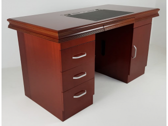 Executive Home Office Desk In Mahogany GRA-UBA161-1600mm