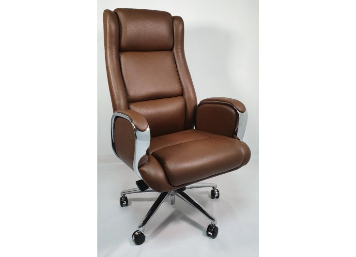 Leather Executive Desk Chair Off 63, Real Leather Office Chair